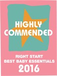 Highly Commended - Right Start Best Baby Essentials Awards, Best Baby Toys Category