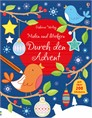 Malen und Stickern: Durch den Advent