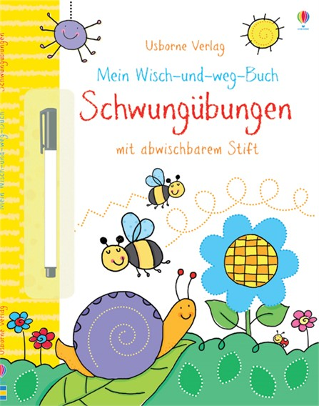 mein wisch und weg buch schwung bungen kinderb cher von usborne. Black Bedroom Furniture Sets. Home Design Ideas