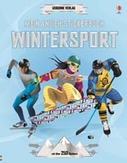 Mein Anzieh-Stickerbuch: Wintersport