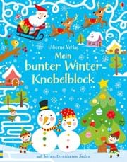 Mein bunter Winter-Knobelblock