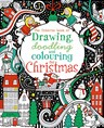 Drawing, doodling and colouring for Christmas