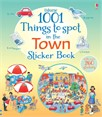 1001 things to spot in the town sticker book