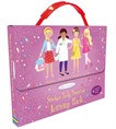 Sticker Dolly Dressing activity pack: Purple