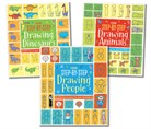 Step-by-step drawing activity pack