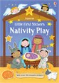 Little first stickers Nativity Play