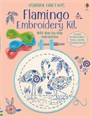 Embroidery kit: Flamingo