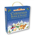 Christmas flap book and jigsaw in carry case