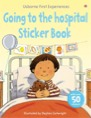 Going to the hospital sticker book