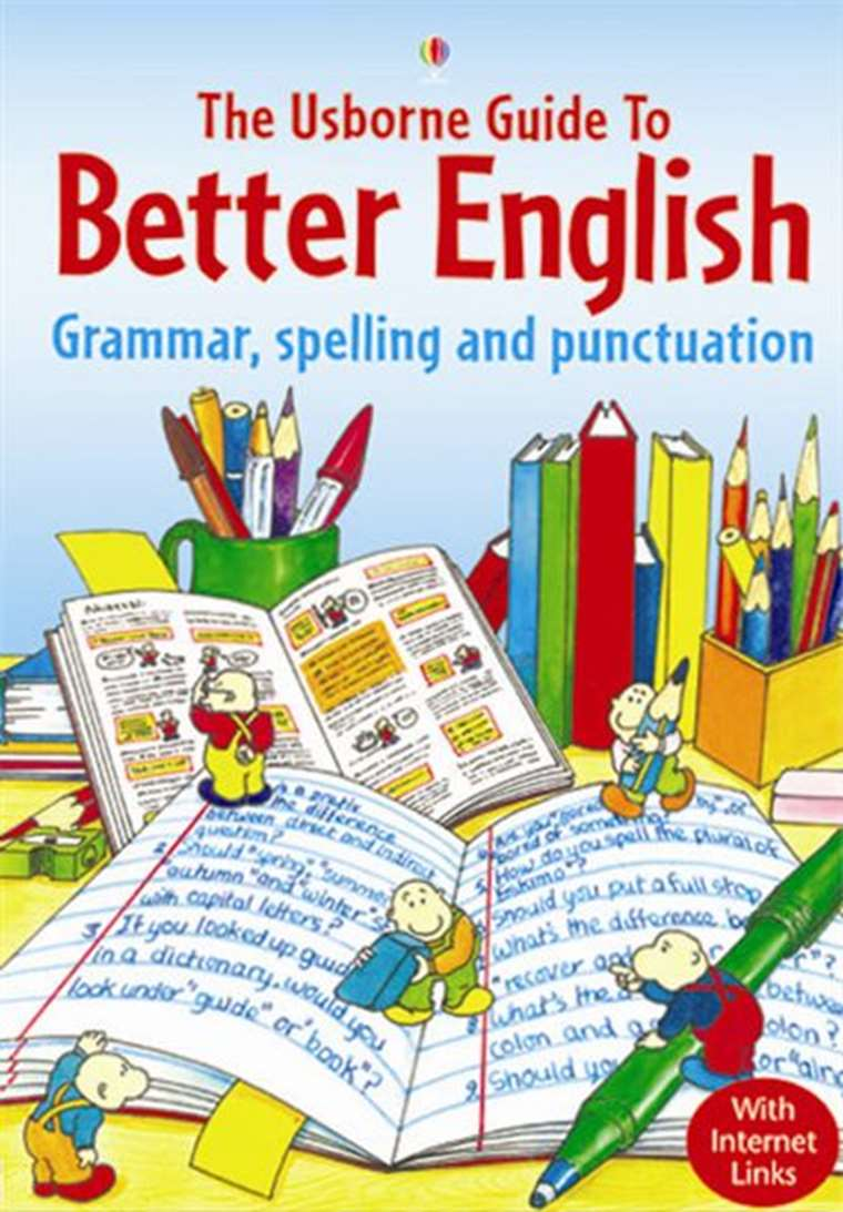 The usborne guide to better english youtube.