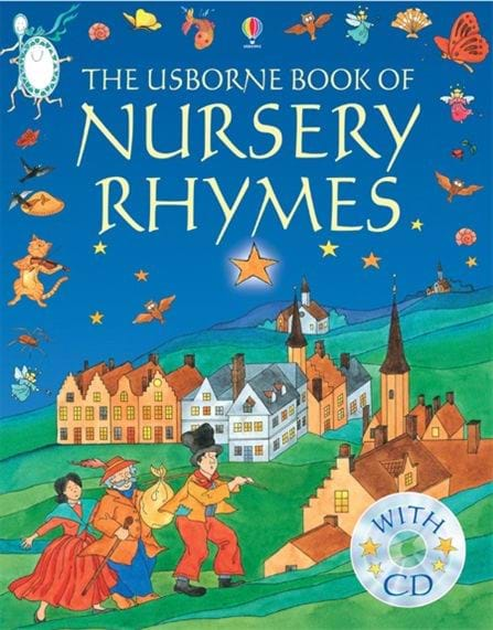 "Cover Page Of Kids Book ~ ""nursery rhymes at usborne children s books"