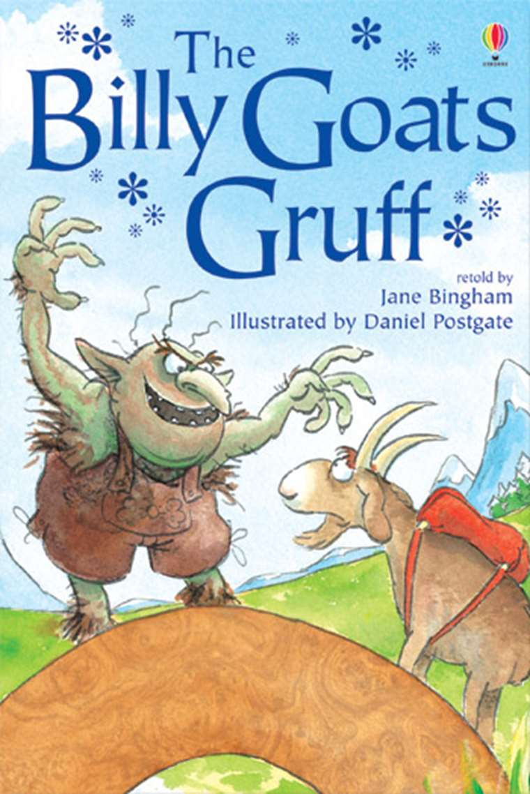"The Billy Goats Gruff"" at Usborne Children's Books"
