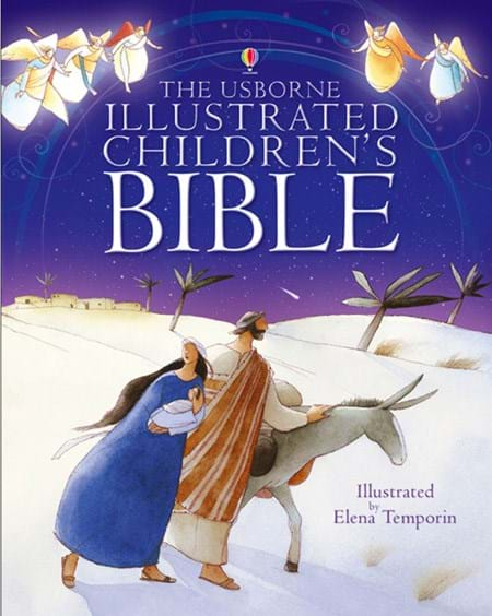 """Illustrated Children S Book Covers : """"the illustrated children s bible at usborne books"""