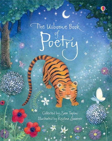 """Poetry Book Cover Uk : """"the usborne book of poetry at books home"""