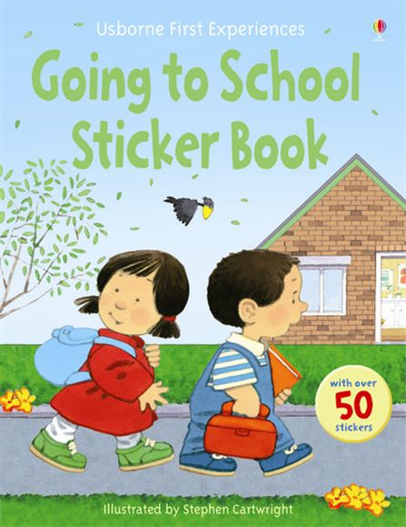 going to school books for preschoolers going to school sticker book at usborne books at home 984