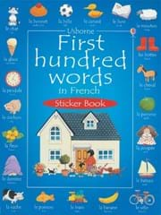 First hundred words in French sticker book