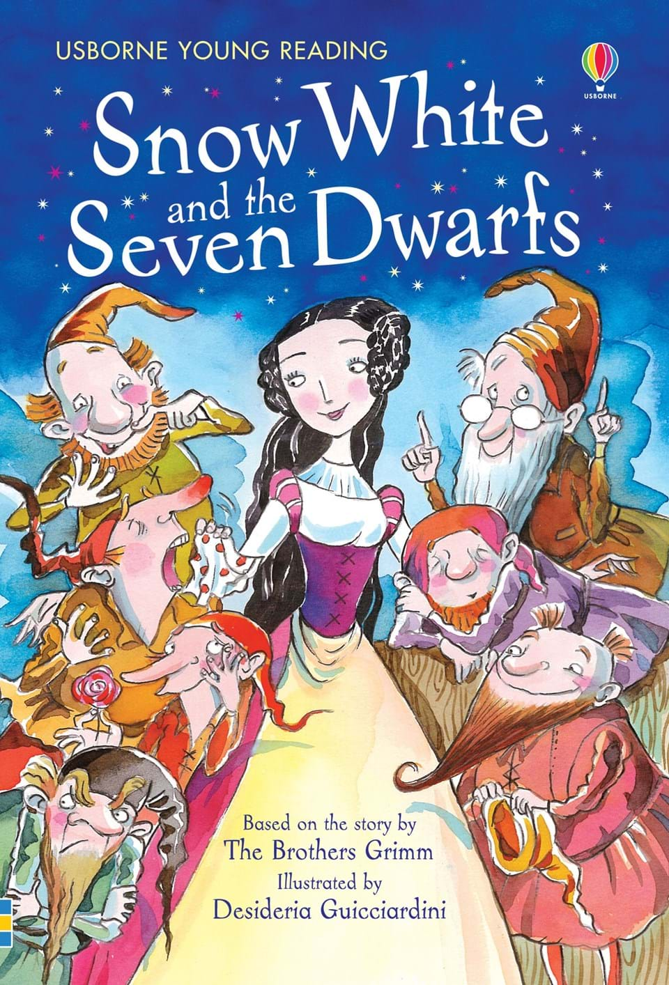 "Snow White Book Cover : ""snow white and the seven dwarfs at usborne children s books"