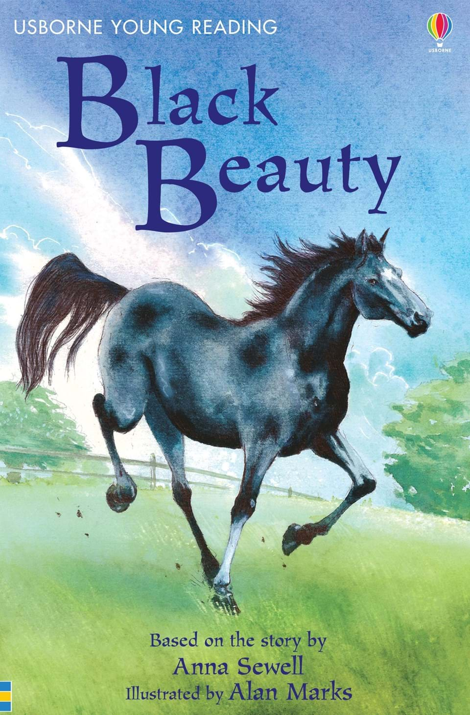 "Book Cover Of Black Beauty : ""black beauty at usborne books home"