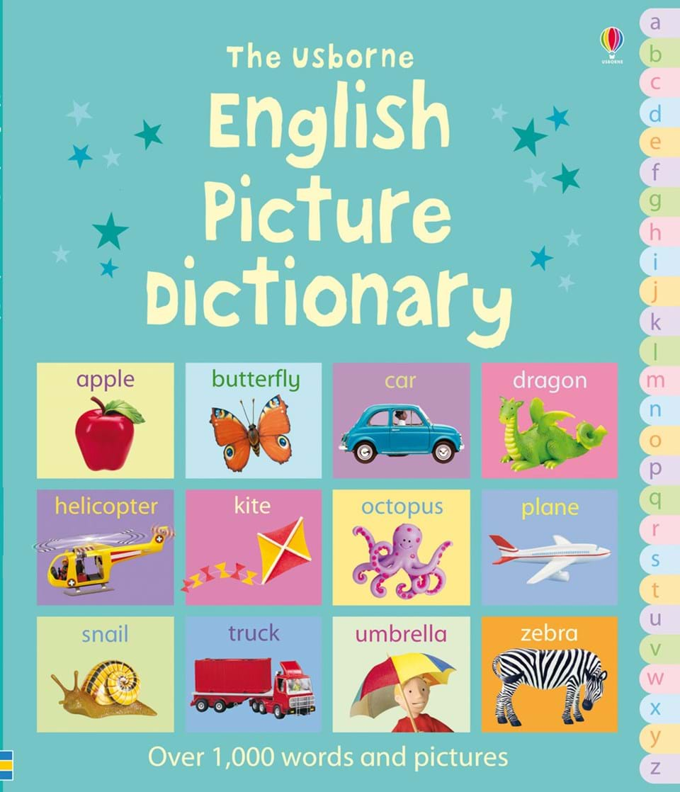 English picture dictionary at usborne books at home for One dictionary