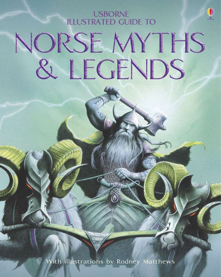 """Norse Myths and Legends"""" at Usborne Children's Books"""