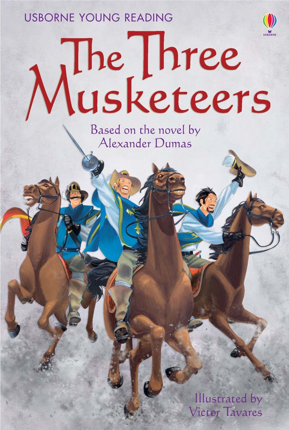 """The Three Types Of Totalitarian Systems: """"The Three Musketeers"""" At Usborne Children's Books"""