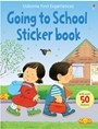 Going to school sticker book