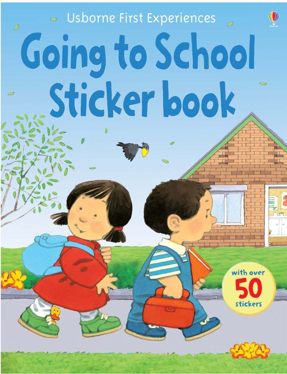 "School Book Cover Stickers : ""going to school sticker book at usborne books home"