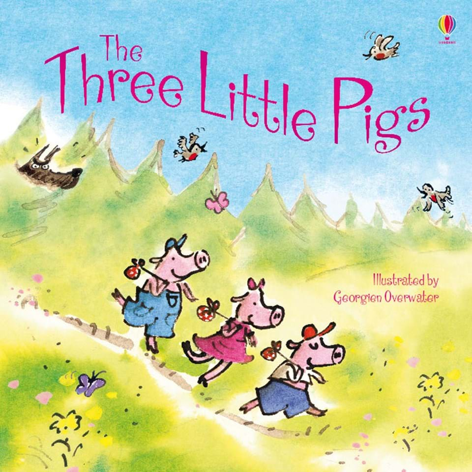 """The Three Little Pigs"" at Usborne Books at Home"