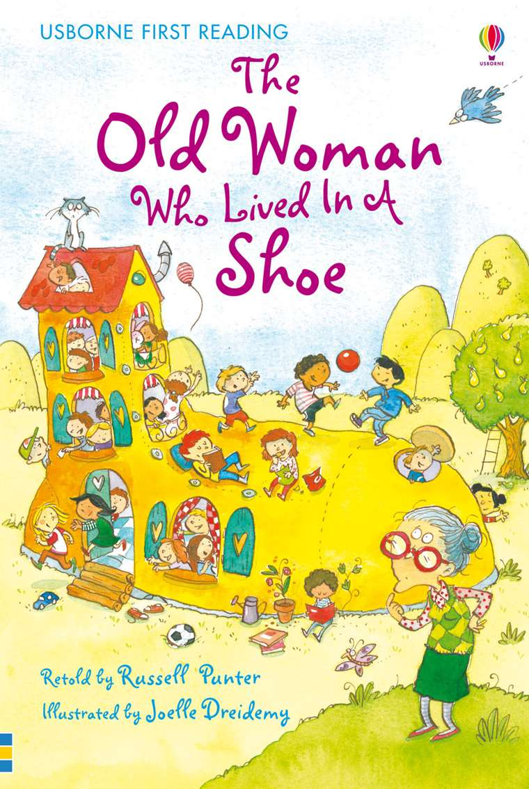 """445b75636bf """"The old woman who lived in a shoe"""" at Usborne Children's Books"""