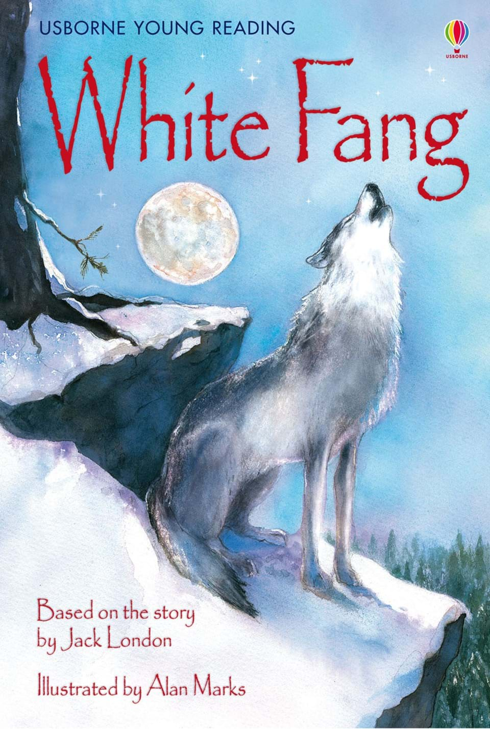 "White Fang Book Cover : ""white fang at usborne books home"