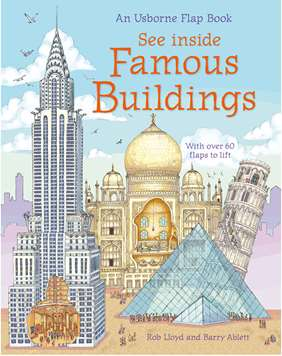 Story Of London Sticker Book See Inside Famous Buildings