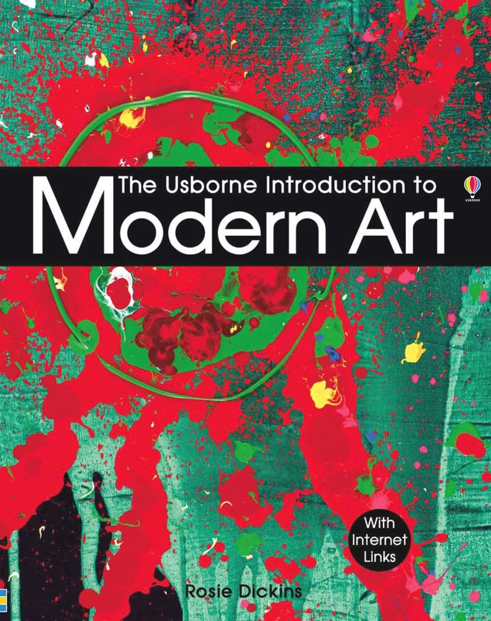 """Modern Book Cover Artists : """"introduction to modern art at usborne books home"""