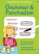 Grammar and punctuation cards