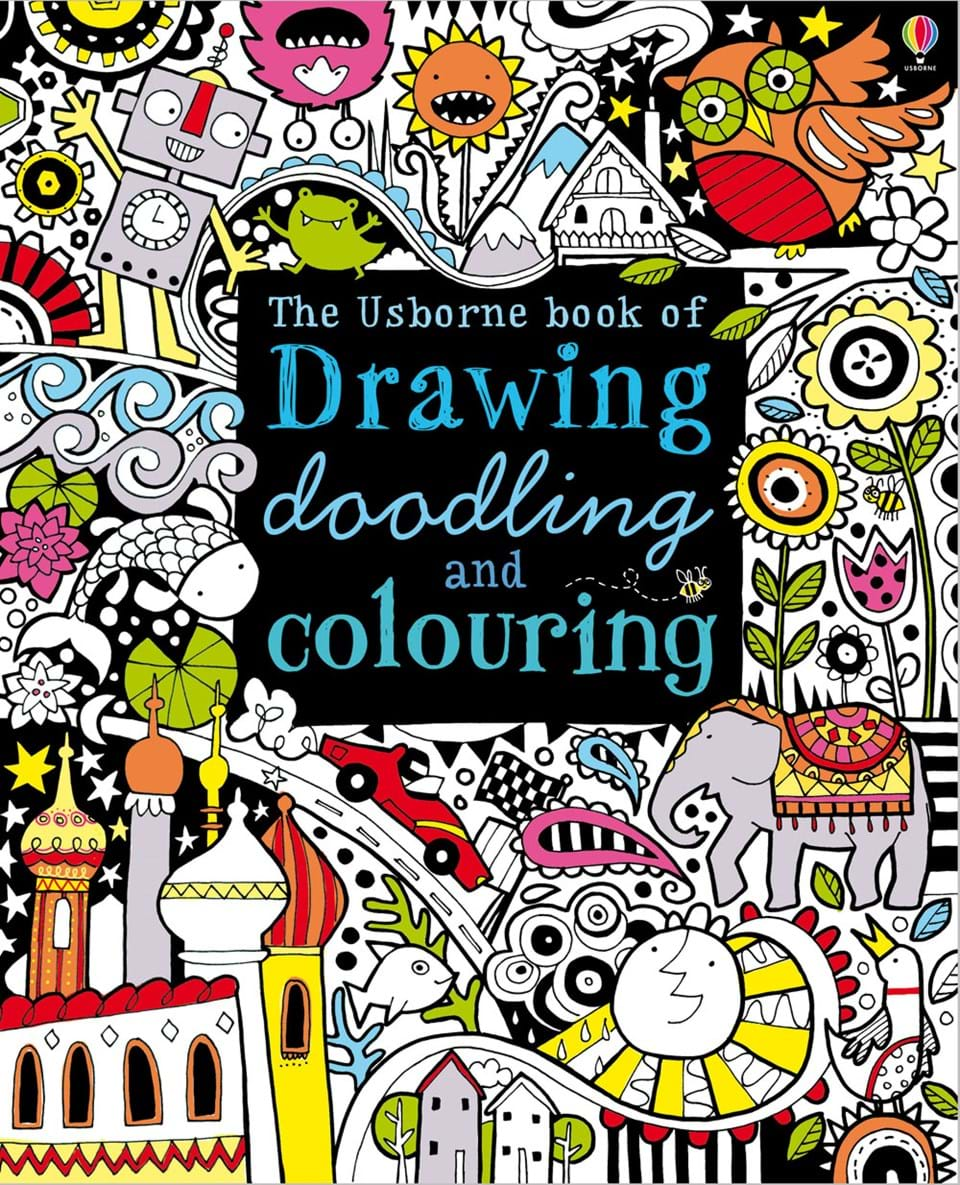 drawing doodling and colouring at usborne children s books - Colouring Books For Children