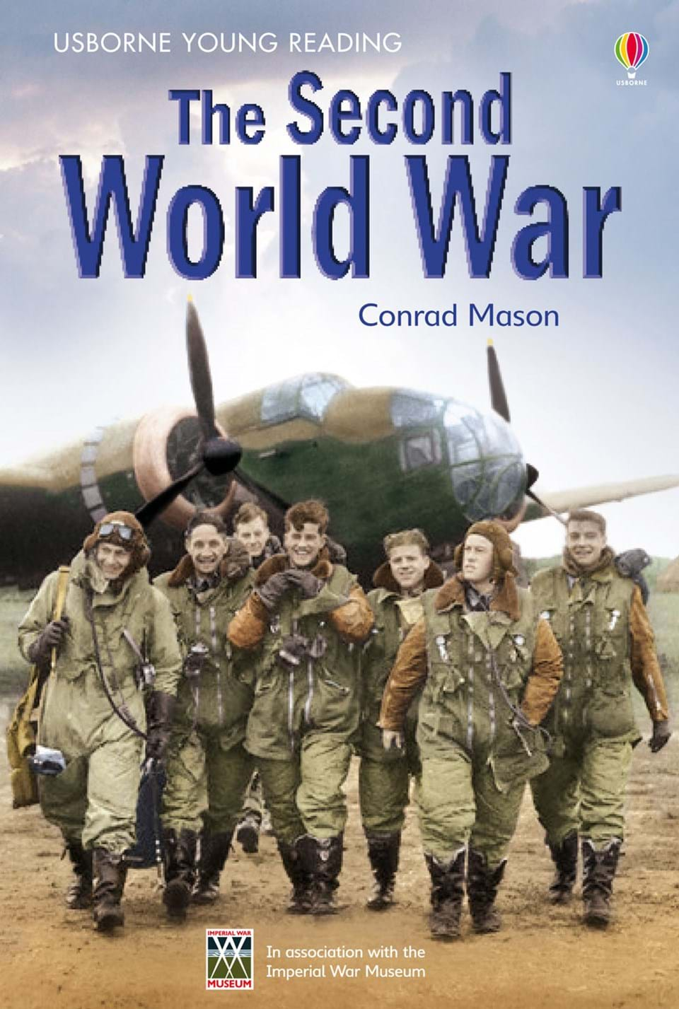 """The Second Generation Of Supermodel Is Here Cindy: """"The Second World War"""" At Usborne Children's Books"""
