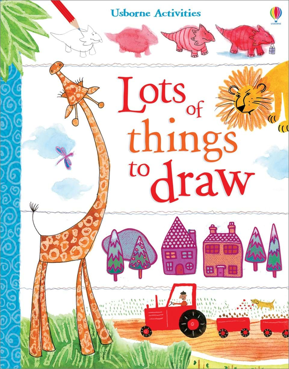 Lots Of Things To Draw At Usborne Books At Home