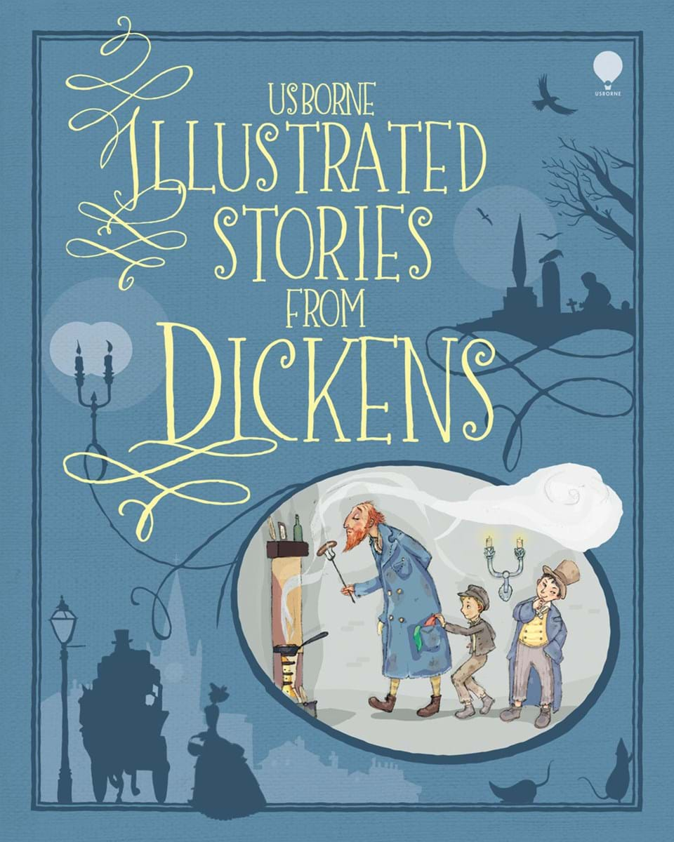 "Illustrated Book Cover Number ~ ""illustrated stories from dickens at usborne children s books"