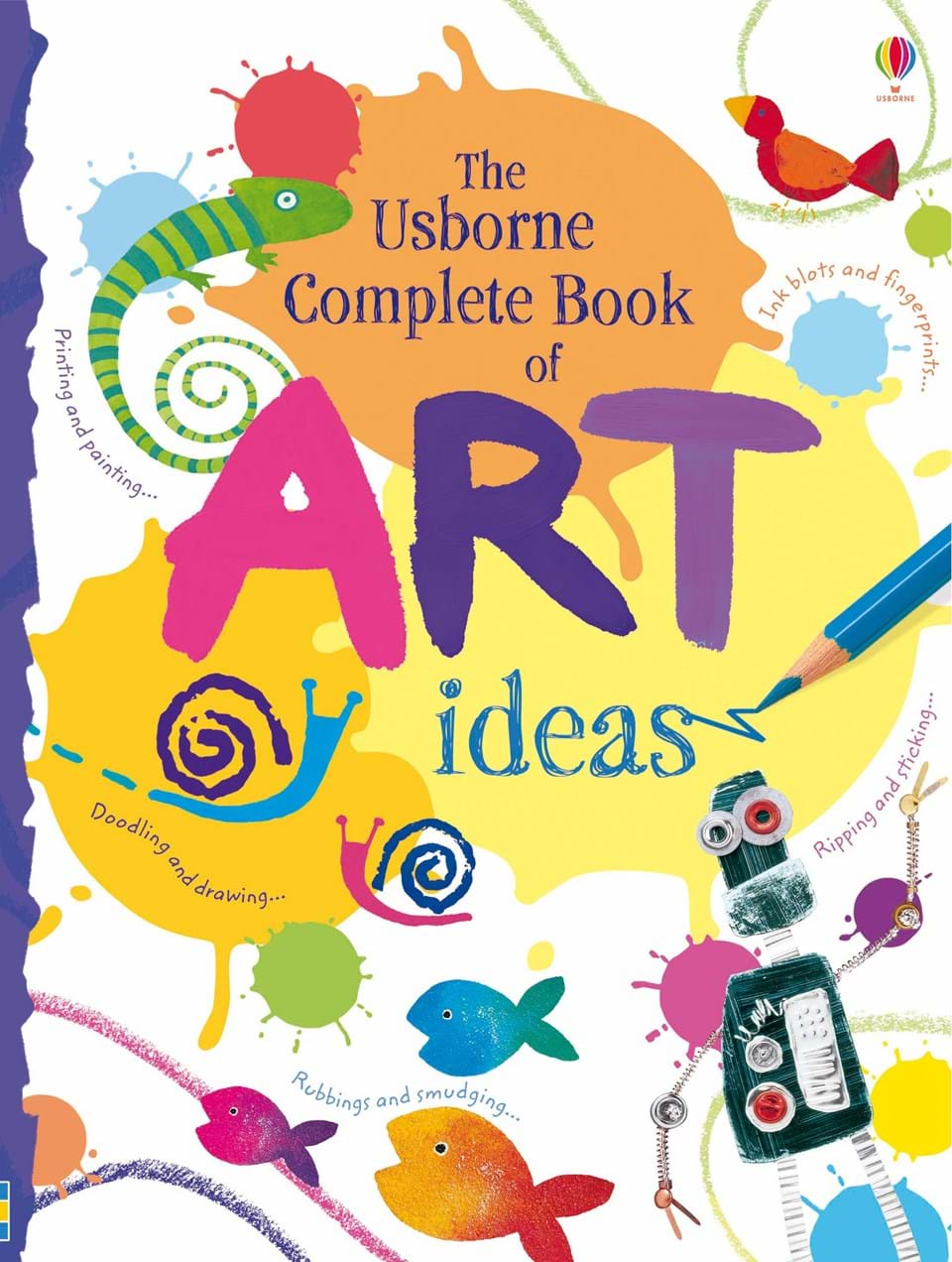 "Book Cover Ideas For Competition : ""complete book of art ideas at usborne books home"