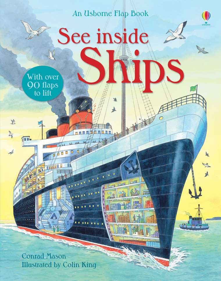 "See inside ships"" at Usborne Children's Books"