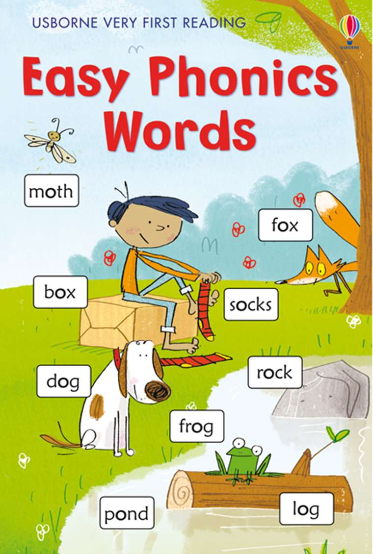 Very First Reading Easy Phonics Words At Usborne Children S Books