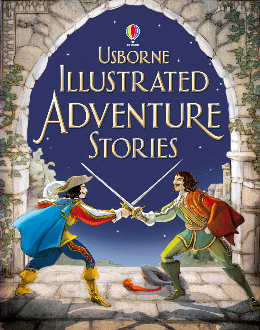 """Illustrated adventure stories"""" at Usborne Books at Home"""