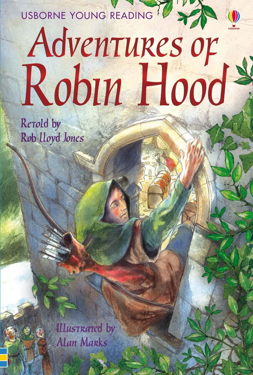 "Children S Book Covers Alan Powers : ""adventures of robin hood at usborne children s books"