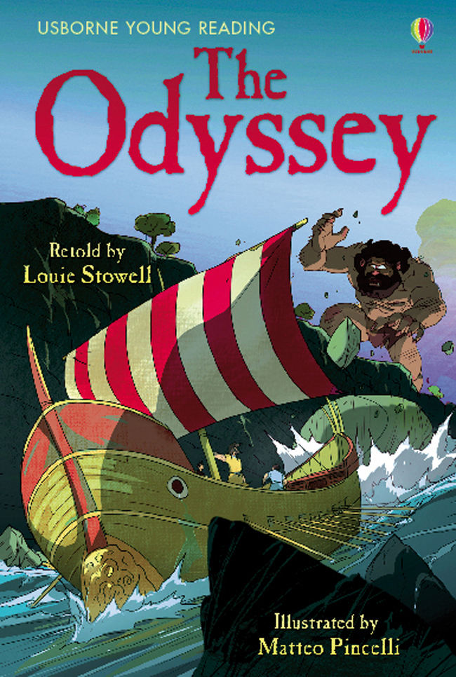 """The Odyssey"""" at Usborne Books at Home"""