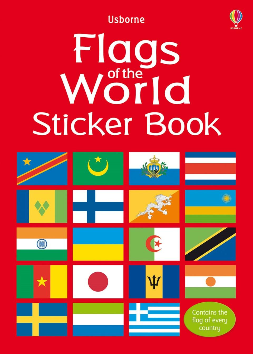 flags of the world sticker book at usborne books at home. Black Bedroom Furniture Sets. Home Design Ideas
