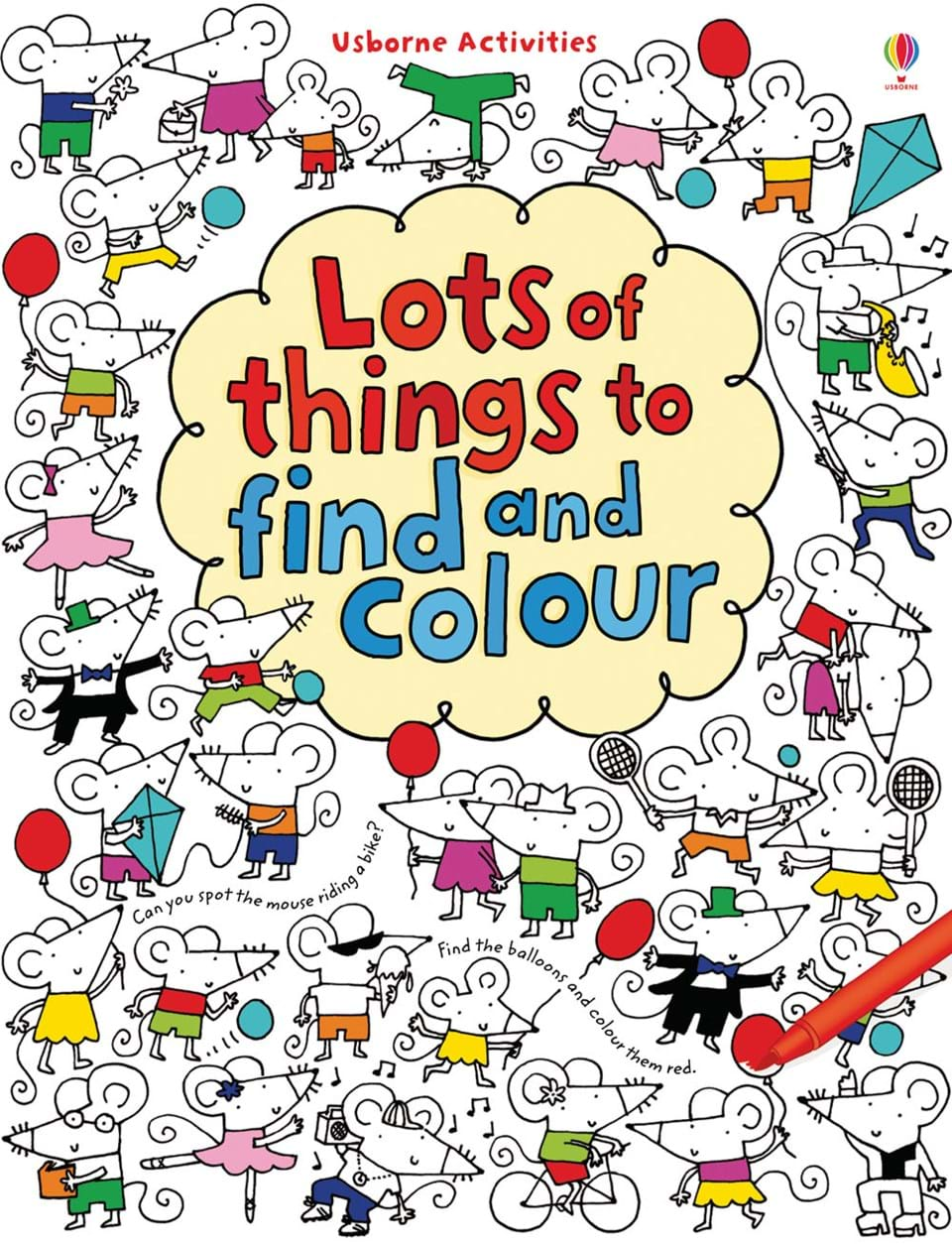 lots of things to find and colour - Things To Colour In
