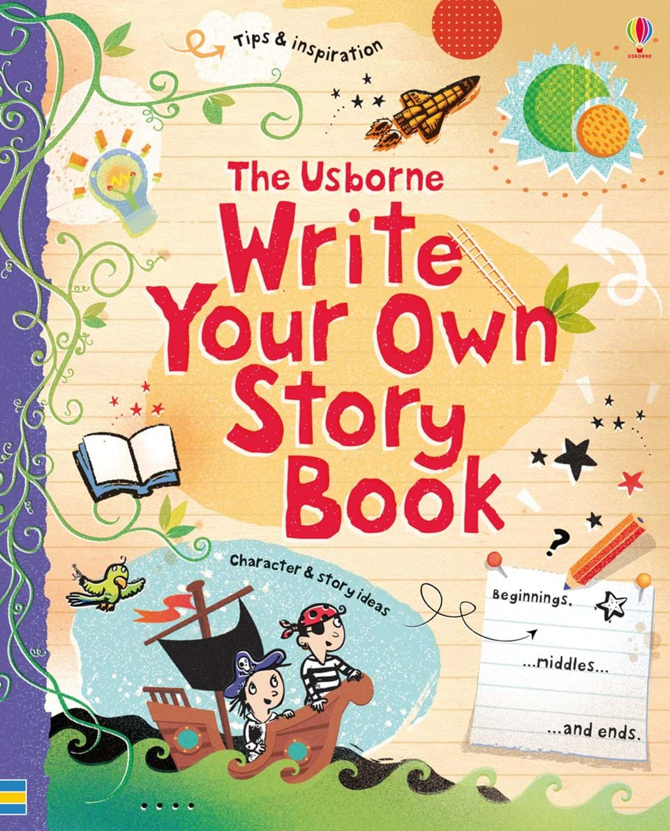 "Adventure Story Ideas write your own story book"" at usborne children's books"