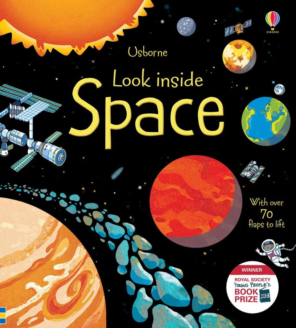 Image result for usborne look inside space