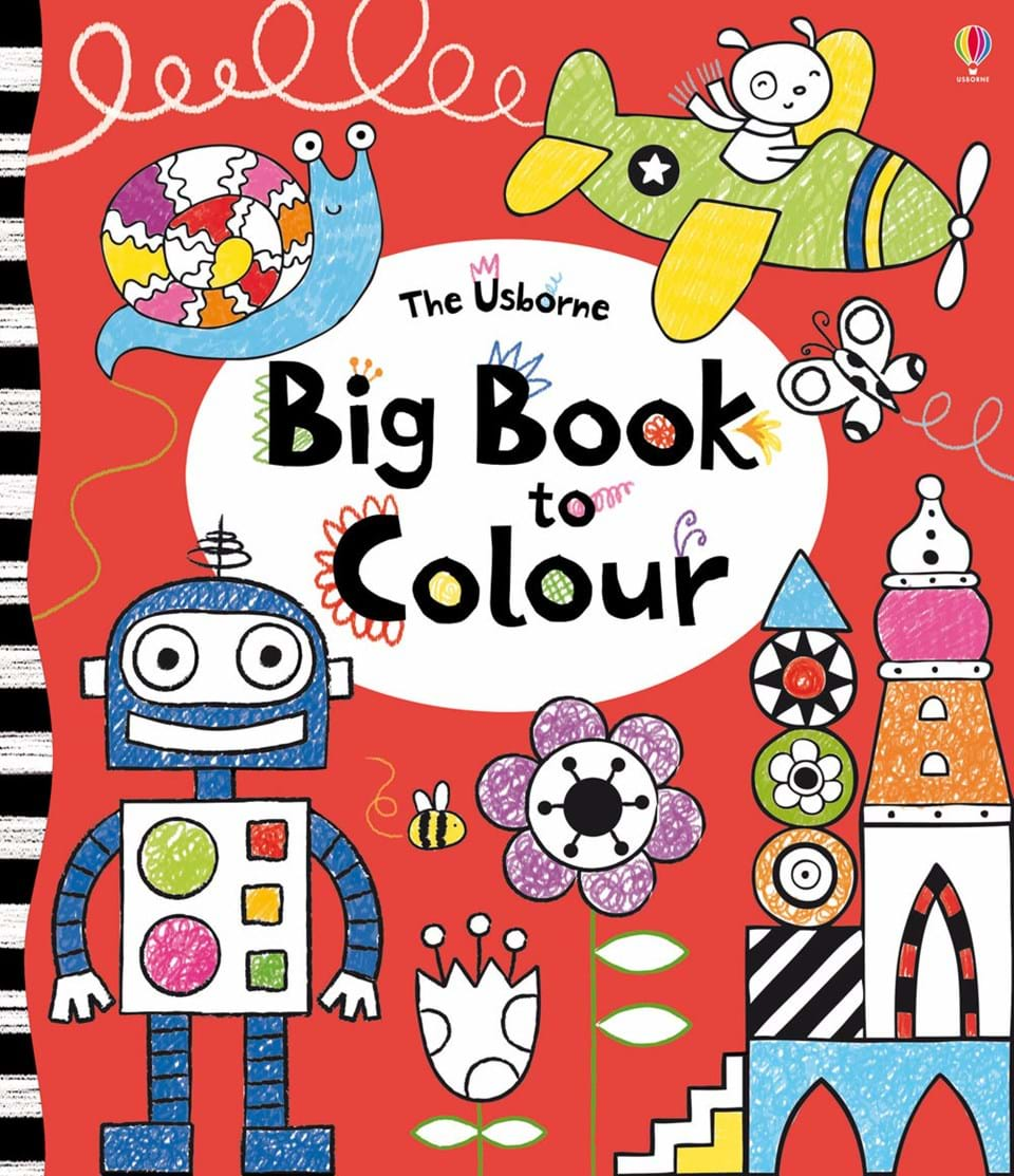 big book to colour - Books To Color