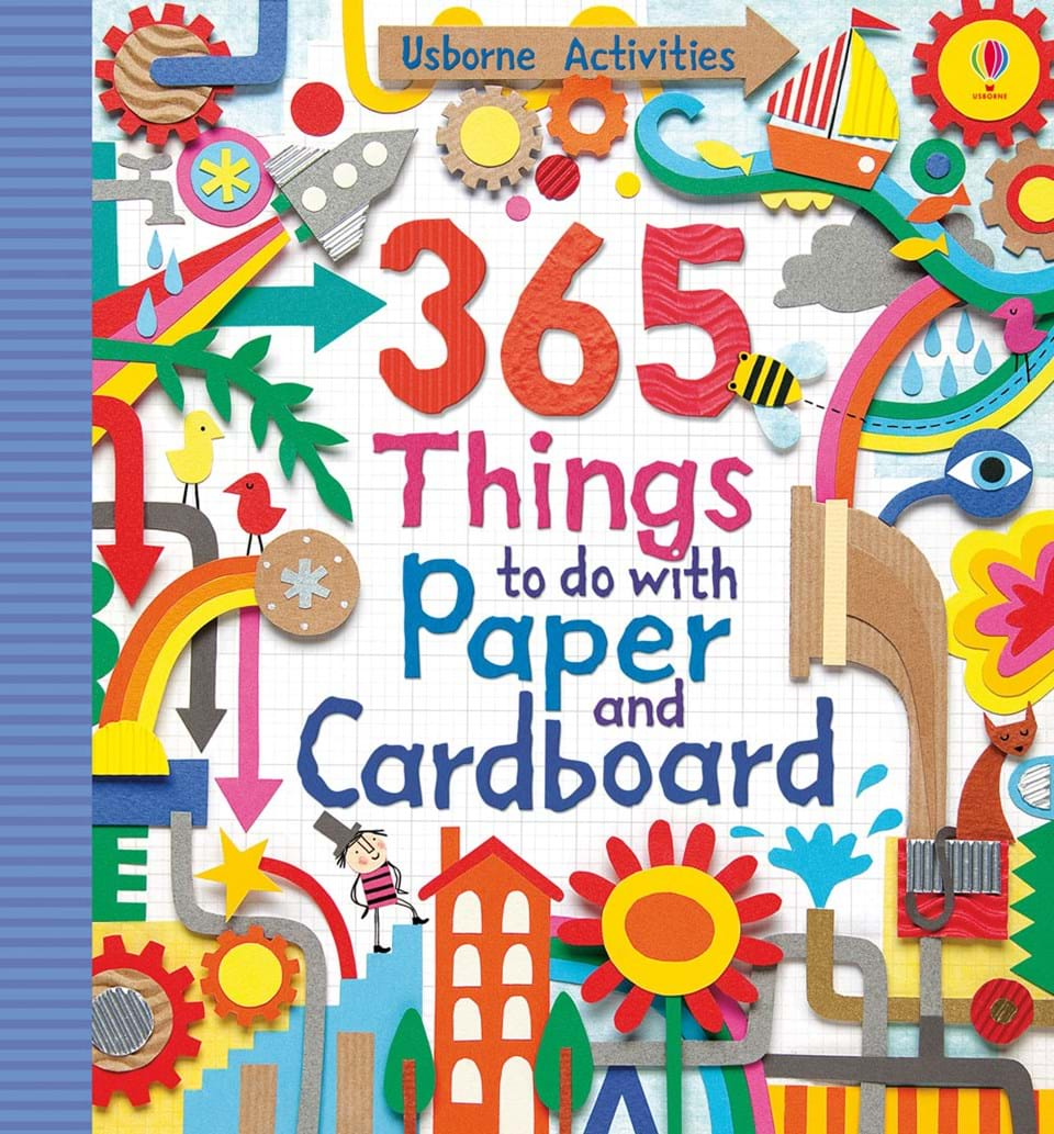 365 things to do with paper and cardboard at usborne for Things to make with paper