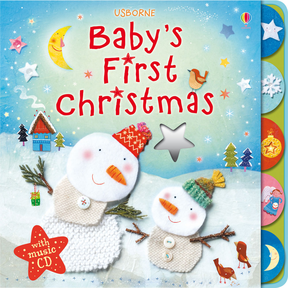 """Baby's first Christmas with music CD"""" at Usborne Books at Home ..."""